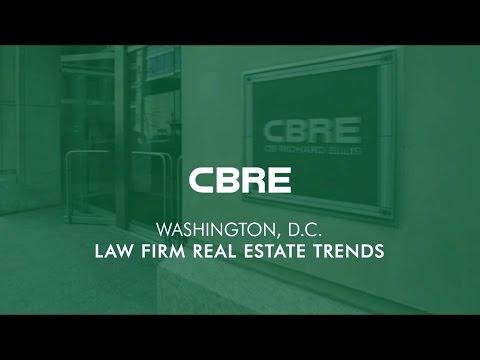 CBRE Washington, D.C. Law Firm Trends