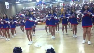 ebhs cheerleaders cheer and dance
