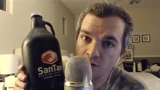 ASMR: 2018 Kickoff! Drinking San Tan Brewery Winter Warmer and Whisper Rambling about Resolutions!