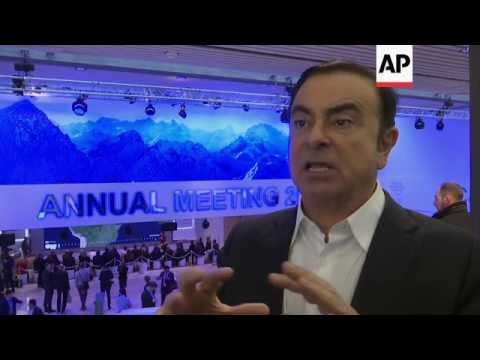 Renault-Nissan CEO on Trump, Brexit, emissions