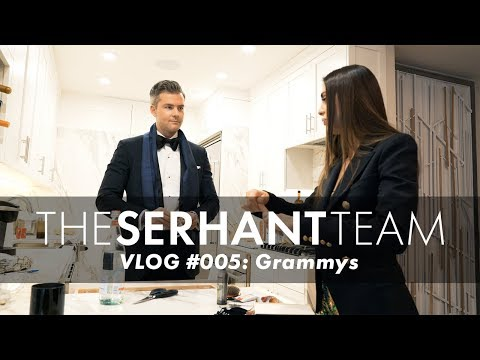 RYAN SERHANT VLOG 005  GRAMMYS WITH EMILIA