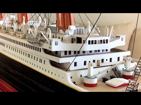 Titanic Model Ship (6 ft version)