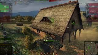 Т 54 1 ый обр   Редшир  Мастер Воин Основной калибр и бой затащен