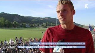Kevin Mayer, un enfant du pays star des JO de Rio