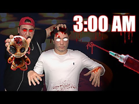 3:00 AM VOODOO DOLL PRANK   MADE A REAL LIFE VOODOO DOLL AND CONTROLLED MY FRIEND AT 3 AM (INSANE!)