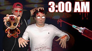 3:00 AM VOODOO DOLL PRANK | MADE A REAL LIFE VOODOO DOLL AND CONTROLLED MY FRIEND AT 3 AM (INSANE!)