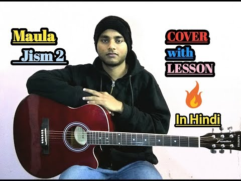 Maula - Jism 2 Guitar Chords Lesson with Cover | Easy Tutorial for Beginners | Ali Azmat