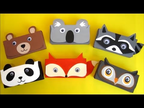 DIY Pencil Case | Back to School Craft | Recycled Crafts Ideas For Kids | Recycle Cereal Box