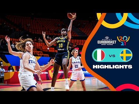 Italy - Sweden | Highlights - FIBA Women's EuroBasket 2021