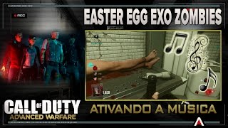 Easter egg  Música escondida   Exo Zombies - AW