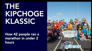 The Kipchoge Klassic - 42 people run a marathon in under 2 hours