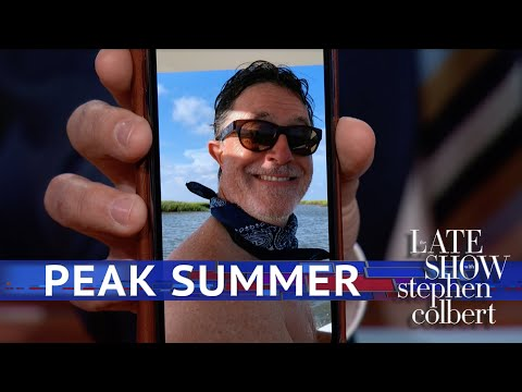 How To Know When Stephen Colbert Enters 'Full Summer Mode'