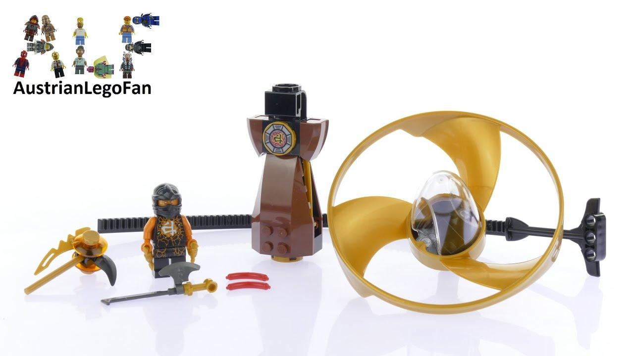 Lego Ninjago  Cole Airjitzu  Minifigure From Set 70741
