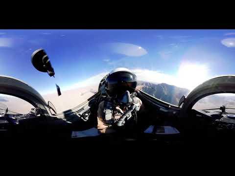 ?he ?ost 360° ?ockpit ?iew ?rom ?n ?S ?ighter ?et: ?orthrop ?-5E ?iger ?I ?ighter ?et 360°  EP 208