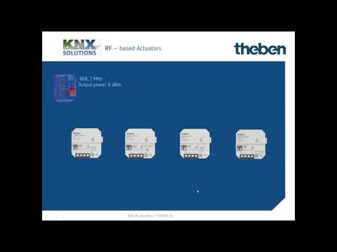 KNX RF Flush-mounted Actuators: Wireless And Secure Communication