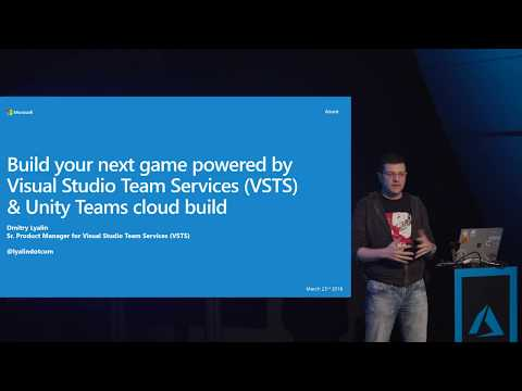 Build your next game powered by Visual Studio Team Services and Unity Teams cloud build