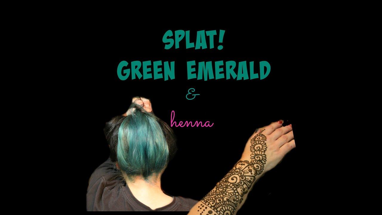 Splat Deep Emerald Henna