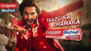 Colgate MaxFresh: Taazgi Express with Ranveer Singh (Kan)