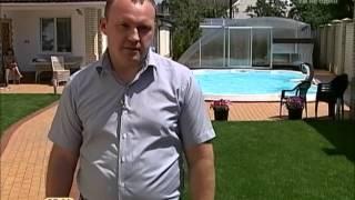 як зробити собі басейн у себе у дворі