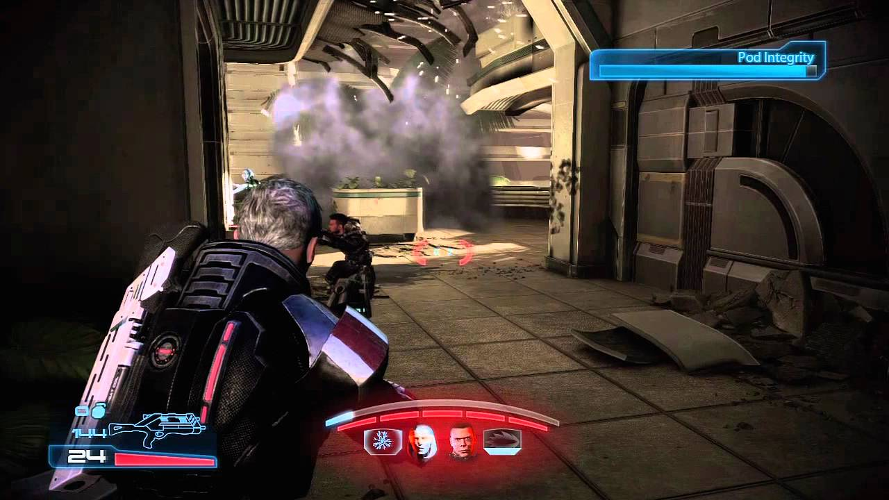 Mass effect 2 sentinel gameplay
