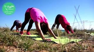 Тренировка на пляже (программа ЛАЙТ) в лагере для похудения Будь в форме в Крыму