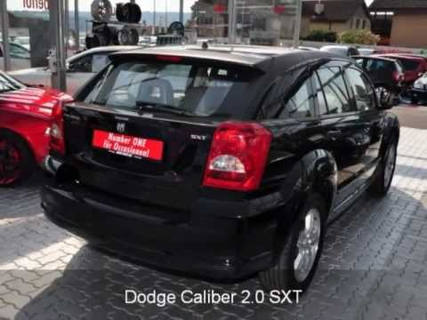 dodge caliber 2 0 sxt 25252 auto kunz ag occasion youtube. Black Bedroom Furniture Sets. Home Design Ideas