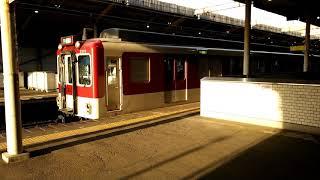 近鉄2800系AX10編成+9200系FC51編成大阪上本町行き準急 近鉄八尾駅発車