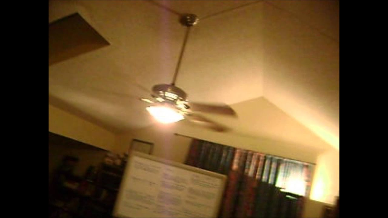 Ceiling Fans In The Church Running At Night Youtube