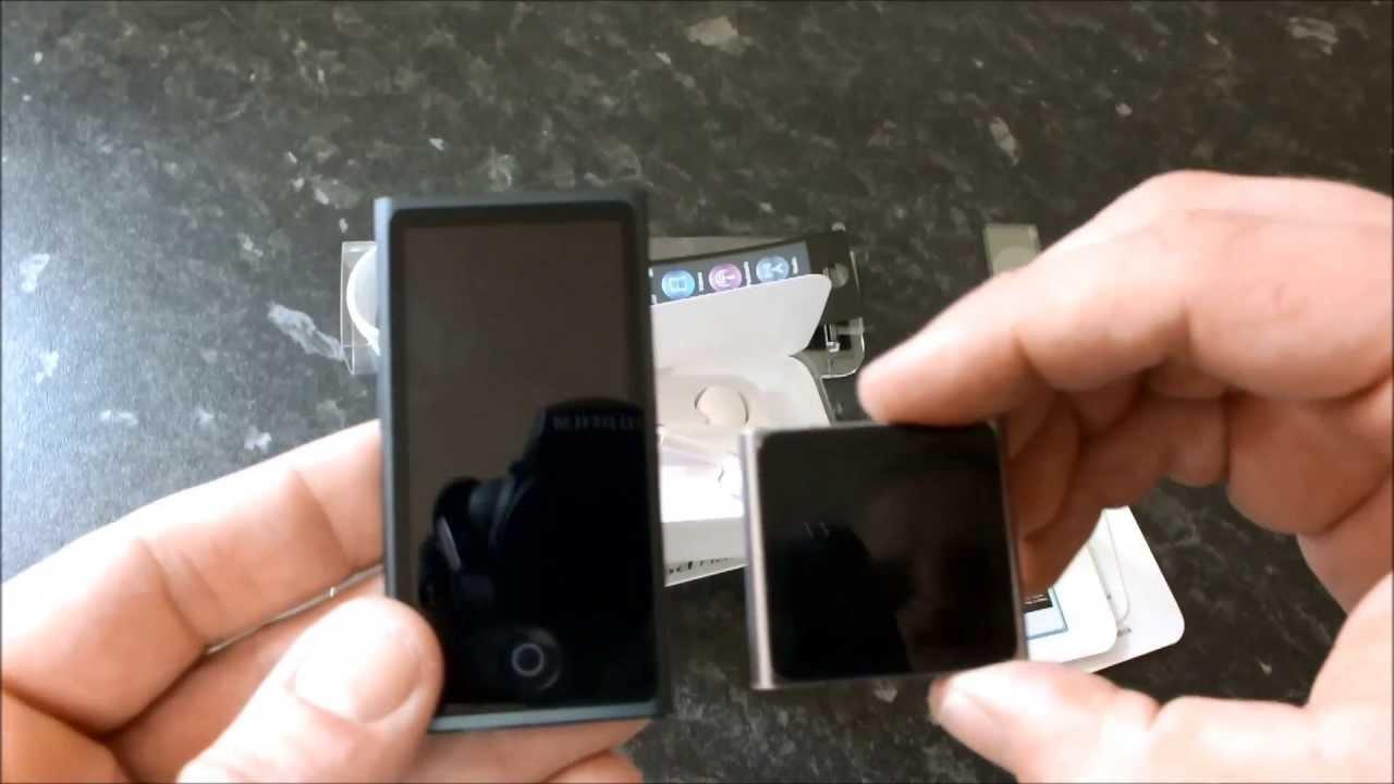 Review NEW iPod Nano 7th Gen (green) - YouTube