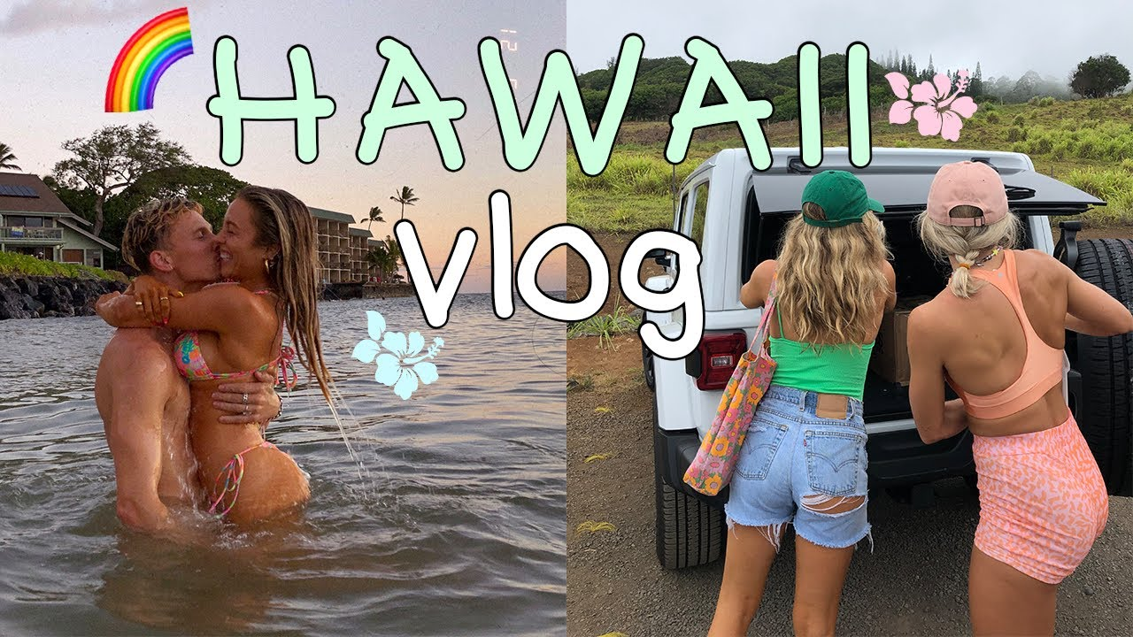 HAWAII VLOG PT 1!! | There's Two Kinds of People in this World, Packing Chaos, Hiking Maui