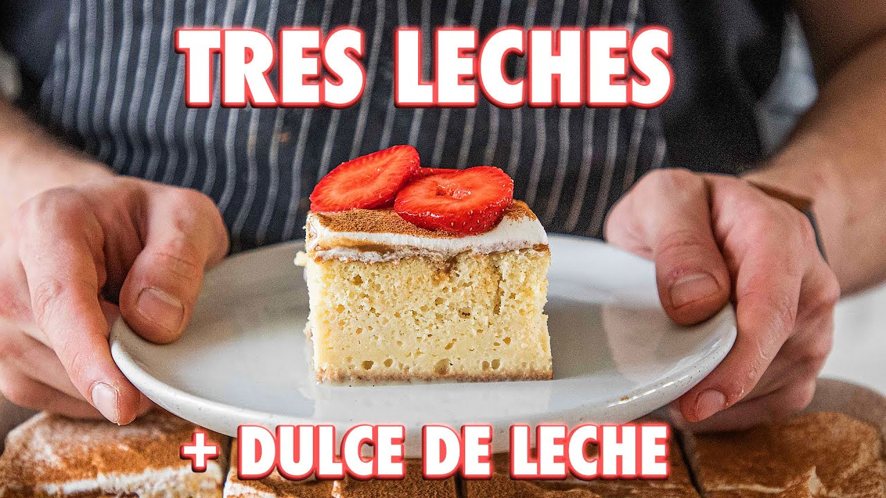 Easy Tres Leches Cake Completely From Scratch