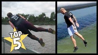 TOP 5 | SILLY SALMON CHALLENGE VIDEOS ( Jackson O