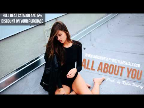 """Acoustic Pop/R&B Instrumental Beats Guitar 2015 2016 x """"All About You"""" (Chris Brown Type Beat 2015)"""