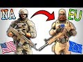 I TRIED THE EU SERVERS... - Rainbow Six Siege (Operation Wind Bastion)