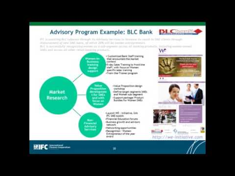 SBBN Webinar: The Business Case for Financing Women Owned SMEs