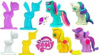 Play Doh My Little Pony MLP Horse Maker Mold - Play-doh Rainbow Dash, Princess Twilight thumbnail