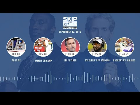 UNDISPUTED Audio Podcast (9.12.19) with Skip Bayless, Shannon Sharpe & Jenny Taft | UNDISPUTED