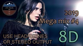 Gambar cover 2019 English Songs Mix #4 (8D Audio) 🎵🎵🎵🎵🎧🎧
