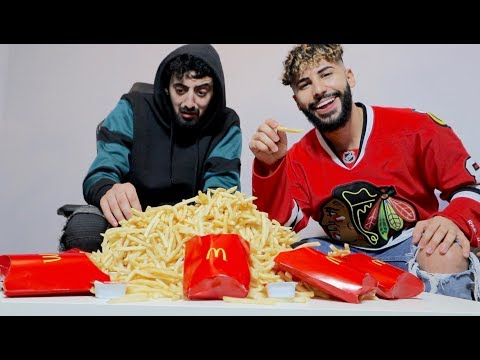 3300 FRENCH FRIES CHALLENGE!!!
