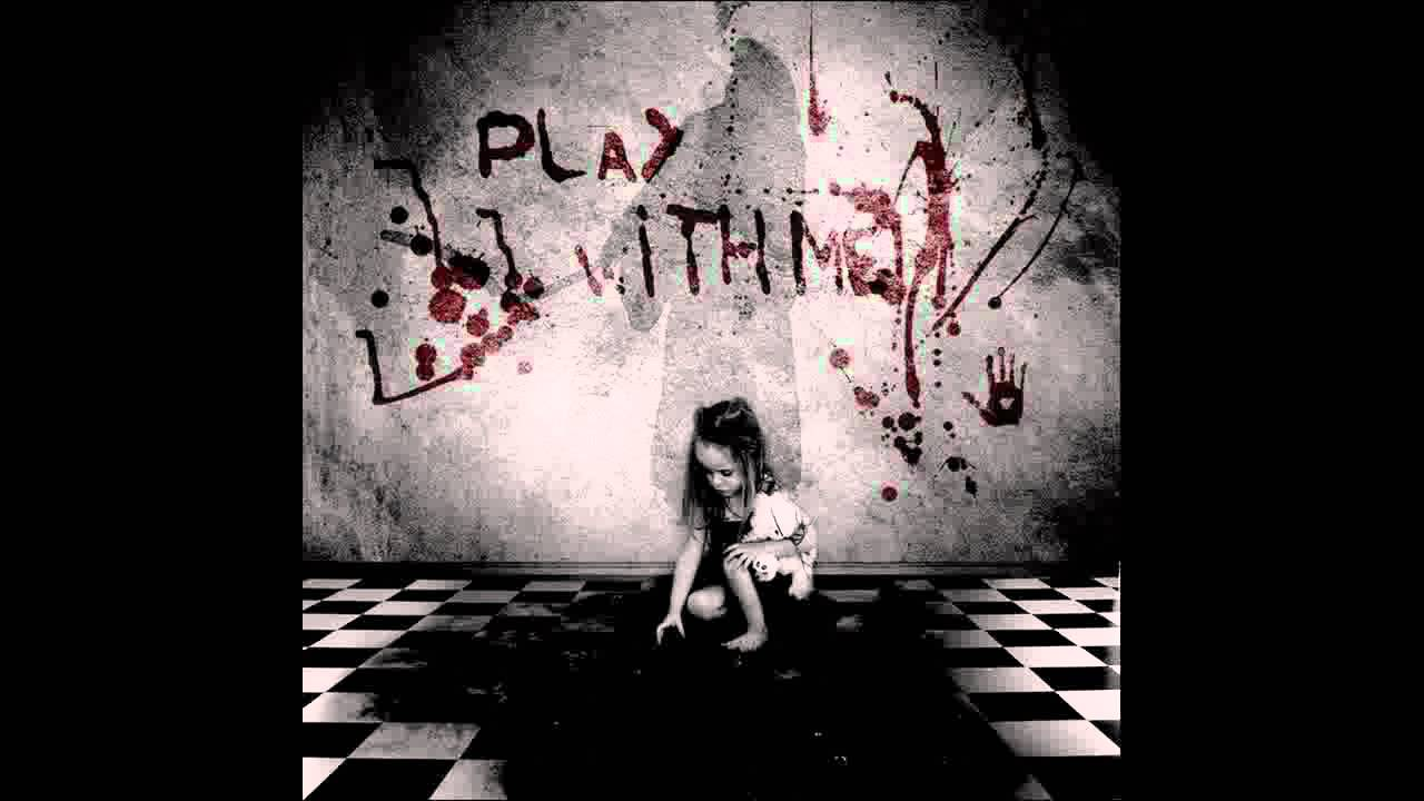 Anime Girl Playing Game Wallpaper Creepy Children S Songs Rock A Bye Baby Youtube