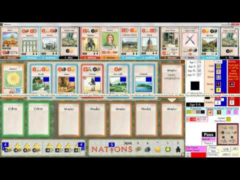 Nations Dynasties Solo Playthrough