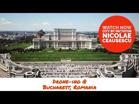 Drone-ing Bucharest, Romania
