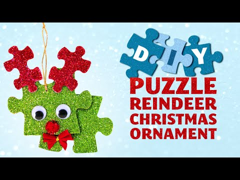 diy-puzzle-reindeer-christmas-ornament---christmas-crafts-for-kids