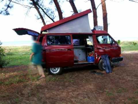 Volkswagen Vanagon Westfalia (VW Westy) Camping Set Up