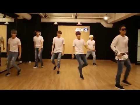 Teen Top 'ah-ah' mirrored Dance Practice