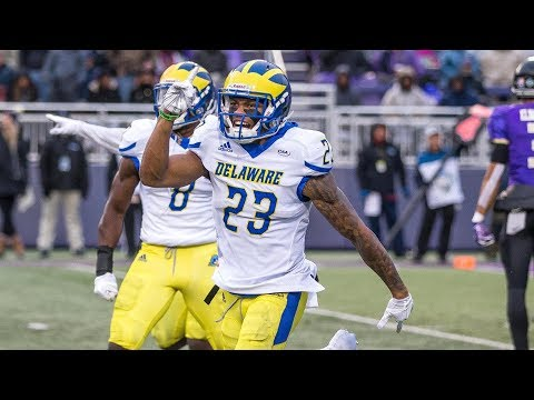 """KRAZY"" (2019 NFL Draft)   Nasir Adderley Delaware Highlights"
