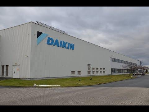 "Daikin производство, завод в Чехии ""Одесса Климат"""