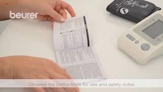 BEURER BM26 bloeddrukmeter / tensiomètre - Productvideo Vandenborre.be