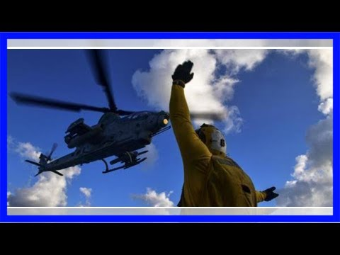 Navy contracts with bell helicopter for two ah-1z vipers