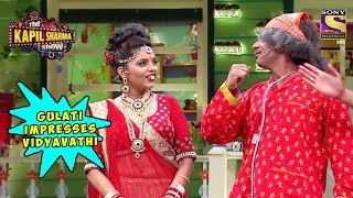 Gulati Impresses Vidyavathi - The Kapil Sharma Show